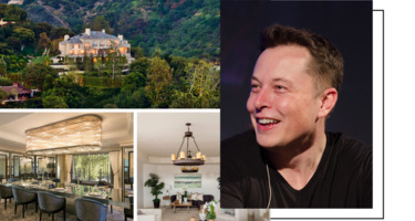 Elon Musk listed 5 houses for $100M in Bel Air, and we found more affordable homes next door ()